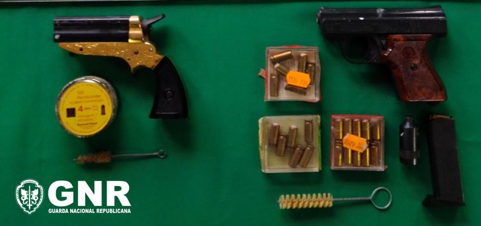 Detido-posse-ilegal-armas-Santo-Tirso