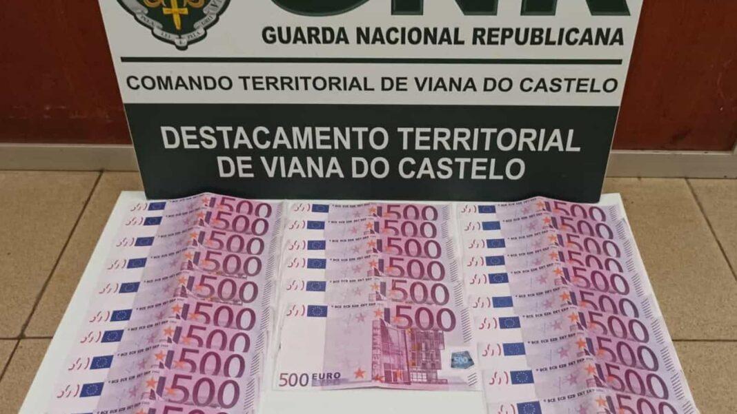 Homem-foi-apanhado-com-13-mil-euros-em-notas-falsas-em-Viana-do-Castelo