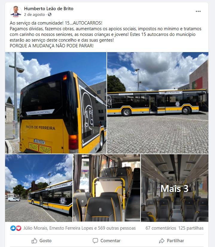 CNE avança que o Presidente da Câmara de Paços de Ferreira violou o dever de neutralidade e imparcialidade